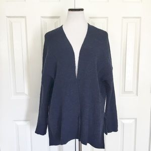 COPY - Hannah Navy Blue cardigan chunky oversized